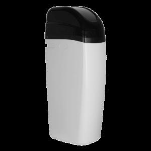 Suavizador de agua en gabinete