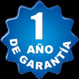 1 año de garantía