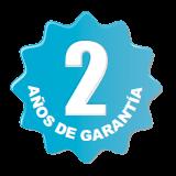 2 años de garantía