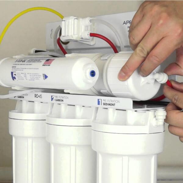 Cómo instalar purificador de agua